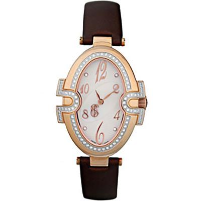 ساعت مچی زنانه اصل |برند سوئیس تایم | مدل ST-511-RGBrn