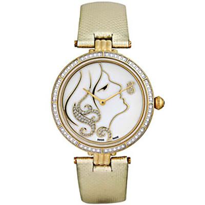 ساعت مچی زنانه اصل |برند سوئیس تایم | مدل ST-571-GPGld