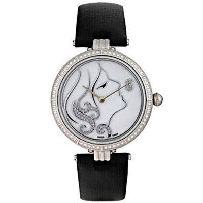 ساعت مچی زنانه اصل |برند سوئیس تایم | مدل ST-571-SSBlk