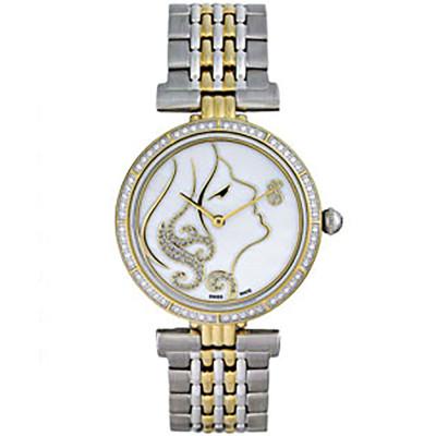 ساعت مچی زنانه اصل |برند سوئیس تایم | مدل ST-571-TT-GP