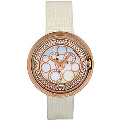 ساعت مچی زنانه اصل |برند سوئیس تایم | مدل ST-691-RGWhi/Wh