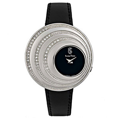 ساعت مچی زنانه اصل  برند سوئیس تایم   مدل ST-715-SS