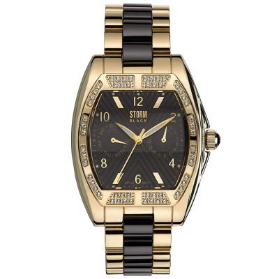 ساعت مچی زنانه اصل | برند استورم | مدل ST4693/BR/GD