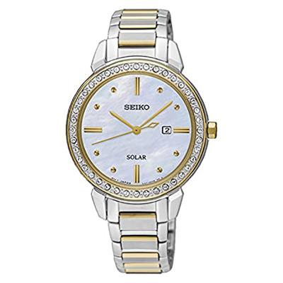 ساعت مچی زنانه اصل | برند سیکو | مدل SUT328P1