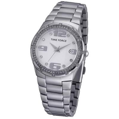 ساعت مچی زنانه اصل | برند تایم فورس | مدل TF3371L02M