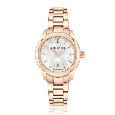 ساعت مچی زنانه اصل | برند تروساردی | مدل TR-R2453100502