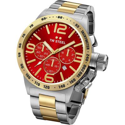 ساعت مچی مردانه اصل | برند تی دبلیو استیل | مدل TW-STEEL-CB74