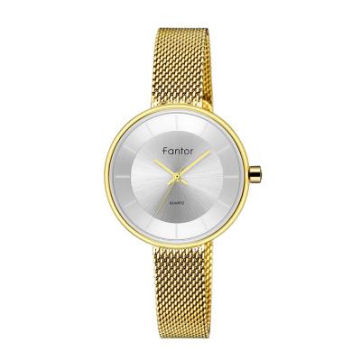 ساعت مچی زنانه اصل   برند فانتور   مدل WF1014L05