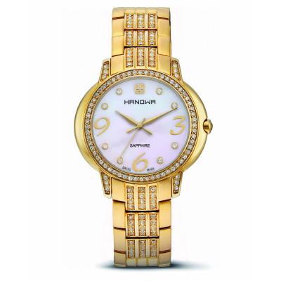 ساعت مچی زنانه اصل | برند هانوا | مدل 16-7024.02.001