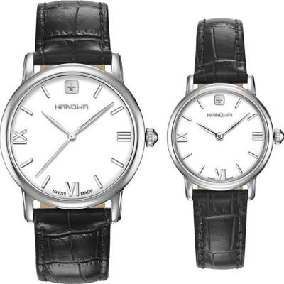 ساعت مچی ست مردانه - زنانه اصل   برند هانوا   مدل 16-8071.04.001SET
