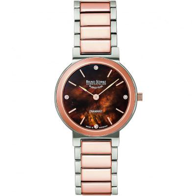 ساعت مچی زنانه اصل برند | برنو زونله | مدل 17-63108-492