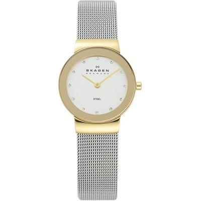 ساعت مچی زنانه اصل   برند اسکاگن   مدل 358SGSCD