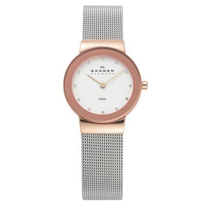 ساعت مچی زنانه اصل   برند اسکاگن   مدل 358SRSC