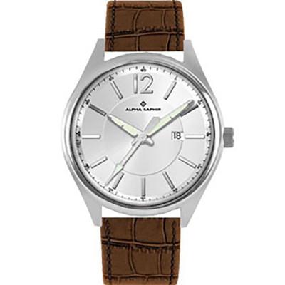 ساعت مچی مردانه اصل   برند آلفا سفیر   مدل 376B