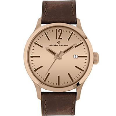 ساعت مچی مردانه اصل | برند آلفا سفیر | مدل 381E