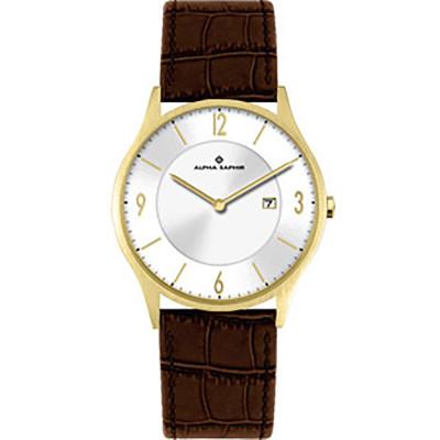 ساعت مچی مردانه اصل | برند آلفا سفیر | مدل 387B
