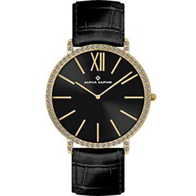 ساعت مچی زنانه اصل | برند آلفا سفیر | مدل 390F