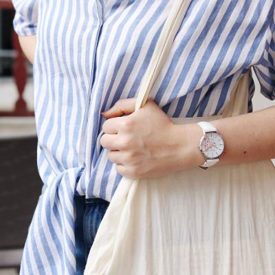 ساعت مچی زنانه اصل | برند جی او | مدل 699011