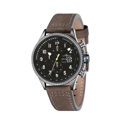 ساعت مچی مردانه اصل | برند ای وی ایت | مدل AV-4036-07