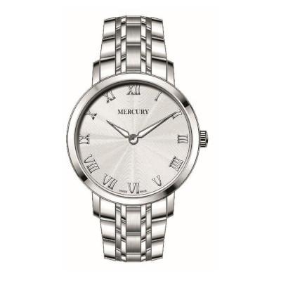 ساعت مچی زنانه اصل | برند مرکوری | مدل ME400-SS-1