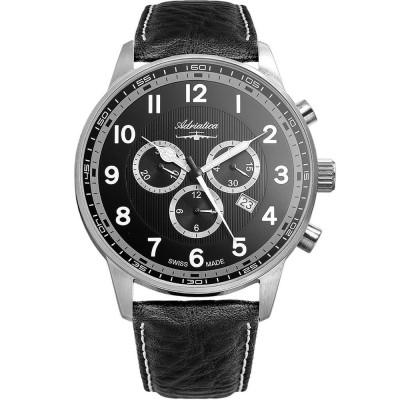 ساعت مچی مردانه اصل | برند آدریاتیکا | مدل A1076.5224CHXL