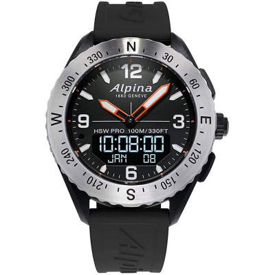 ساعت مچی مردانه هوشمند اصل | برند آلپینا | مدل AL-283LBBO5SAQ6