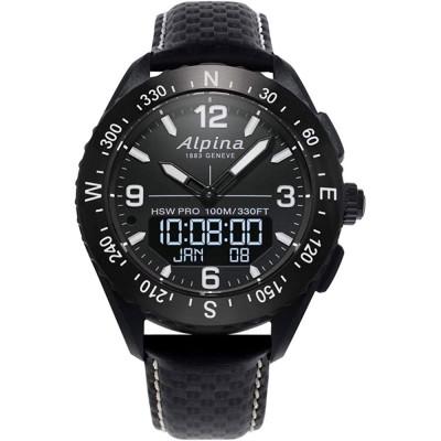 ساعت مچی مردانه هوشمند اصل | برند آلپینا | مدل AL-283LBBW5AQ6