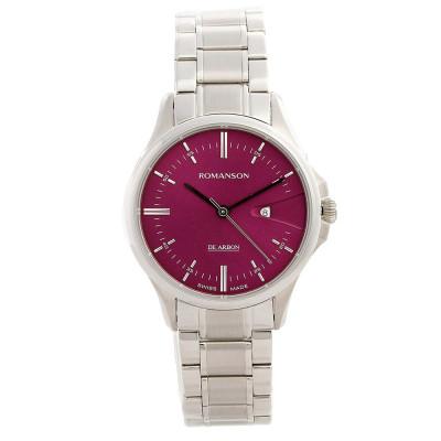 ساعت مچی زنانه اصل | برند رومانسون | مدل CM5A10LL1WAPR2
