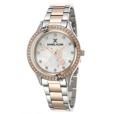 ساعت مچی زنانه اصل   برند دنیل کلین   مدل DK.1.12493-3