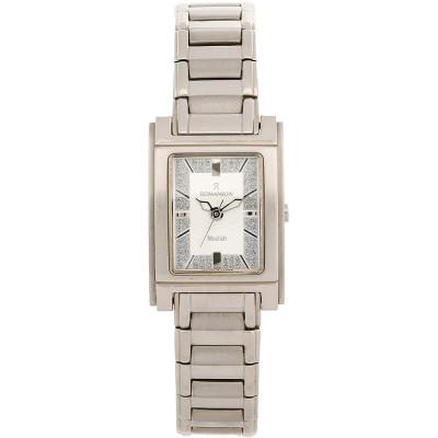 ساعت مچی زنانه اصل | برند رومانسون | مدل DM3110LL1WAS2W
