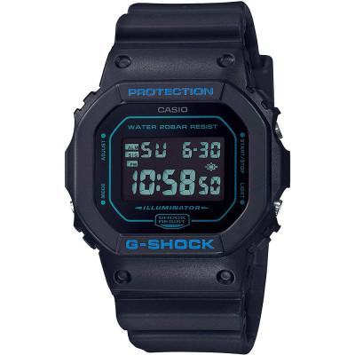 ساعت مچی مردانه اصل | برند کاسیو | مدل جی شاک DW-5600BBM-1DR