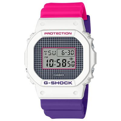 ساعت مچی زنانه اصل | برند کاسیو | مدل جی شاکDW-5600THB-7DR
