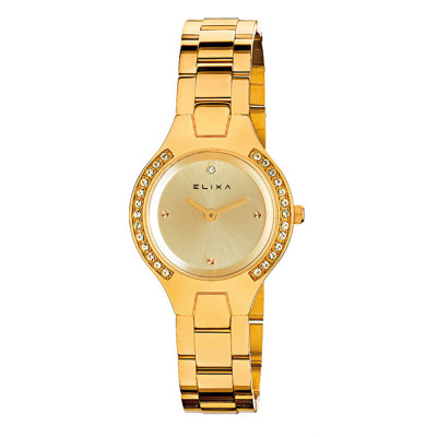 ساعت مچی زنانه اصل | برند الیکسا | مدل E061-L185