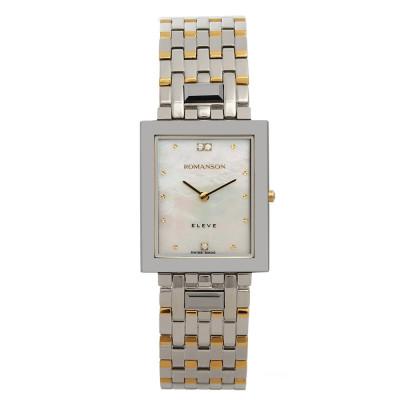 ساعت مچی زنانه اصل | برند رومانسون | مدل EM0208DM1CM11G