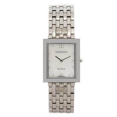 ساعت مچی زنانه اصل | برند رومانسون | مدل EM0208DM1WM12W