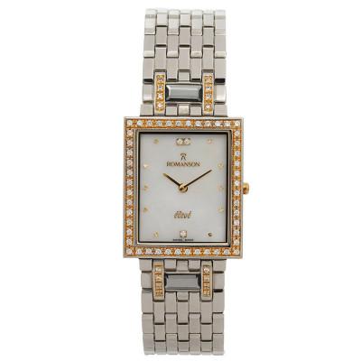 ساعت مچی زنانه اصل | برند رومانسون | مدل EM0208QM1CM12G
