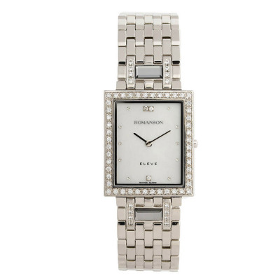 ساعت مچی زنانه اصل | برند رومانسون | مدل EM0208QM1WM12W