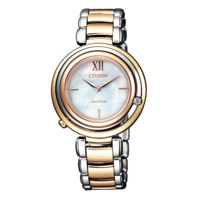 ساعت مچی زنانه اصل | برند سیتیزن | مدل EM0654-88D