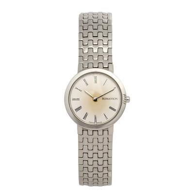 ساعت مچی زنانه اصل | برند رومانسون | مدل EM4105LL1WAS5W