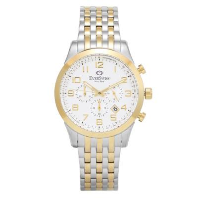 ساعت مچی مردانه اصل | برند اورسوئیس | مدل EV-12822-GTW