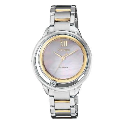 ساعت مچی زنانه اصل   برند سیتیزن   مدل EW5514-87D