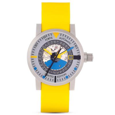 ساعت مچی مردانه اصل   برند فورتیس   مدل F 623.22.15 SI.04