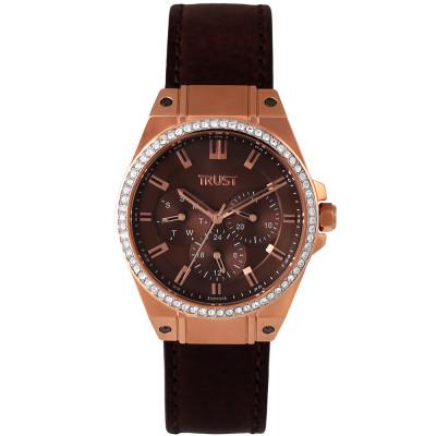 ساعت مچی زنانه اصل | برند تراست | مدل G500CUE