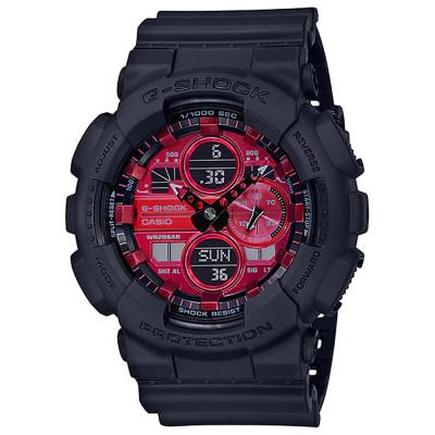 ساعت مچی مردانه اصل | برند کاسیو | مدل جی شاک GA-140AR-1ADR