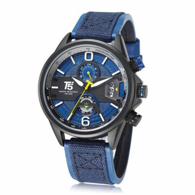 ساعت مچی مردانه اصل | برند تی فایو | مدل H3584-C