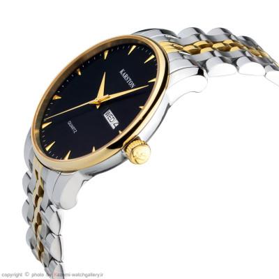 ساعت مچی مردانه اصل | برند کارستون | مدل K-9028GBK