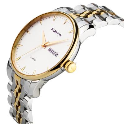 ساعت مچی مردانه اصل | برند کارستون | مدل K-9028GBL