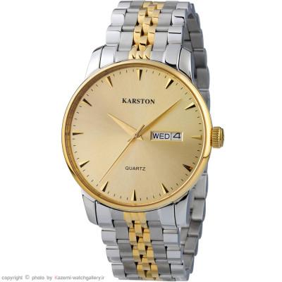 ساعت مچی مردانه اصل | برند کارستون | مدل K-9028GBN