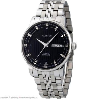 ساعت مچی مردانه اصل | برند کارستون | مدل K-9032GBA