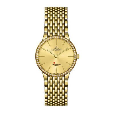ساعت مچی زنانه اصل | برند لوتوسمن | مدل L809BGGJ
